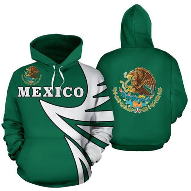 Mexico Warrior Style Hoodie 3D All Over Print