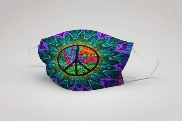 Hippie Full printed Face Mask