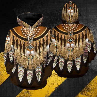 Native American Feather Dreamcatcher Hoodie 3D All Over Print #2210L