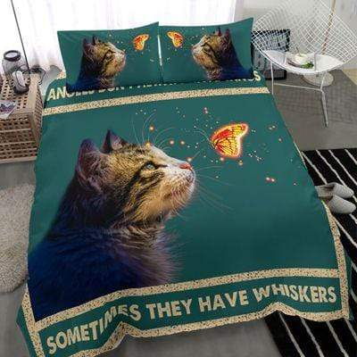 Cat Angle Duvet Cover Bedding Set #3108L
