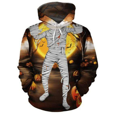 Mummy Halloween Hoodie 3D All Over Print #DH