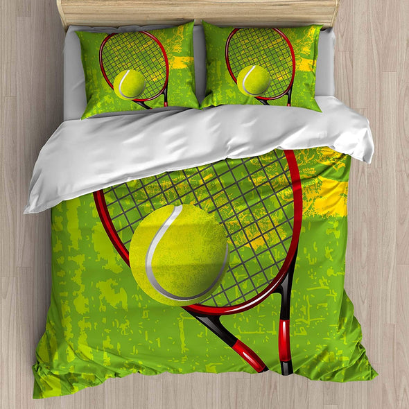Beautiful Tennis Personalized Bedding Set with Name #V