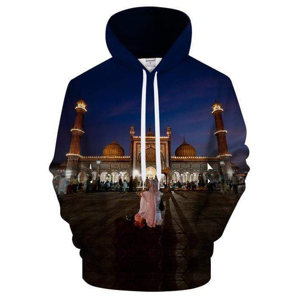 Lovely Mosque Moment Hoodie 3D