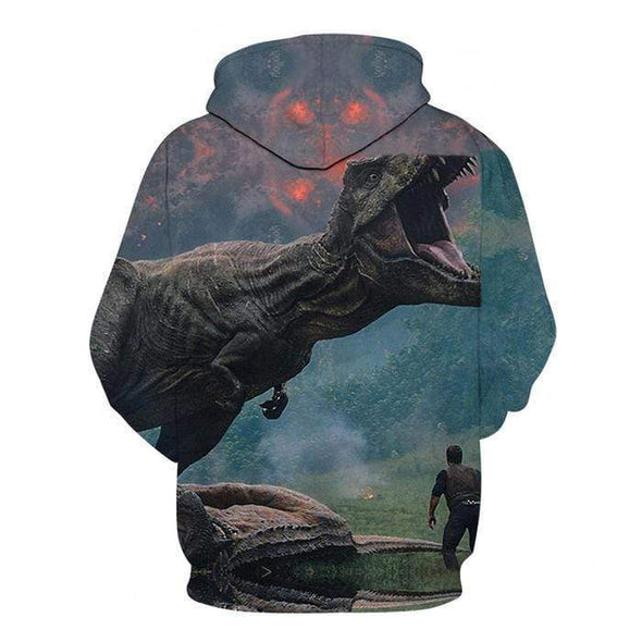 Honor T-rex Hoodie 3D All over print