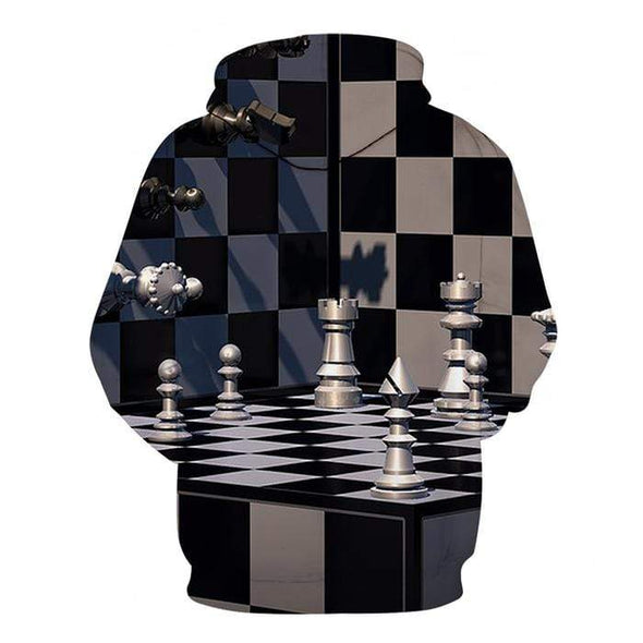 Amazing Chess 3D Hoodie 3D All Over Print