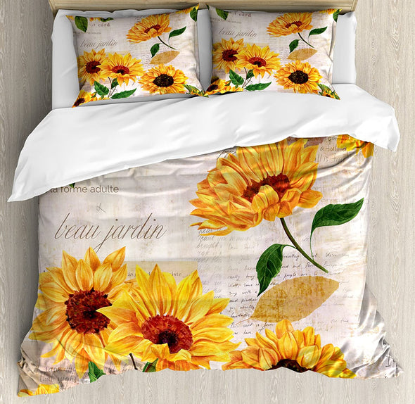 Sportyzen Bedding Set Beau Jardin Duvet Cover Bedding Set