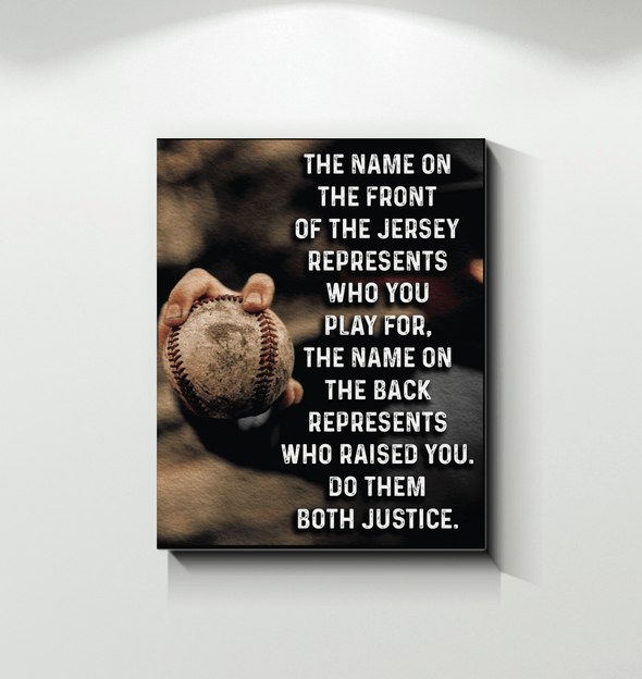 GearLaunch Canvas Prints Baseball Custom Canvas prints Do them both justice