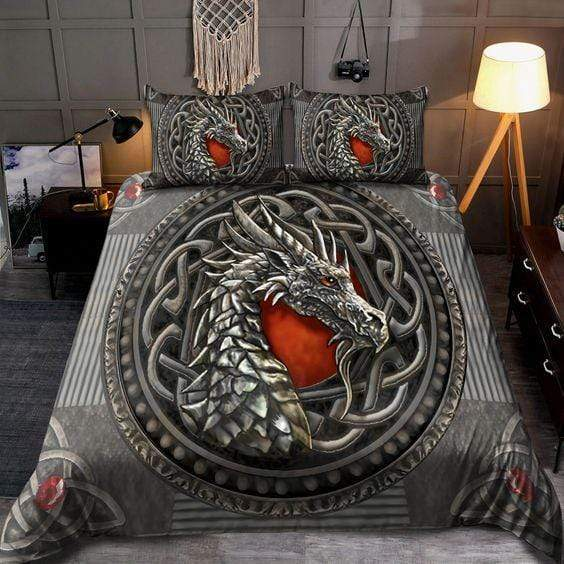 Dragon Celtic Duvet Cover Bedding Set