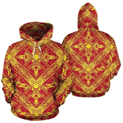 Polynesian Tribal Hoodie 3D All Over Print