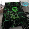 Weed Shut The F Up Personalized Name Duvet Cover Bedding Set #110V