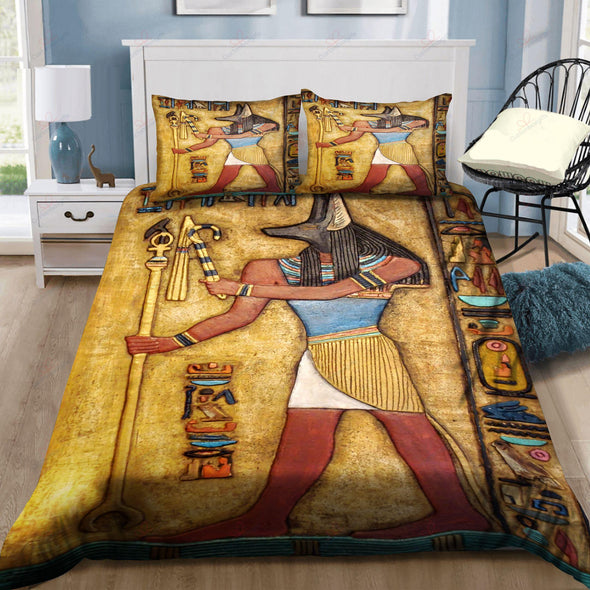 Ancient Egypt Limited Edition Personalized Name Duvet Cover Bedding Set #H