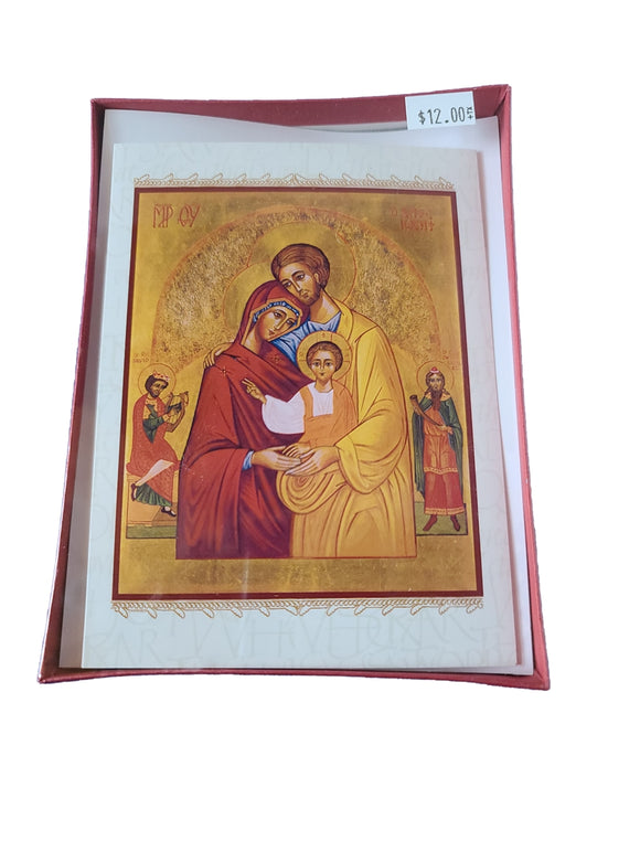 Christmas Cards - The Holy Family - AG-3072