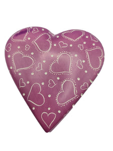 Heart Trinket Box - Purple