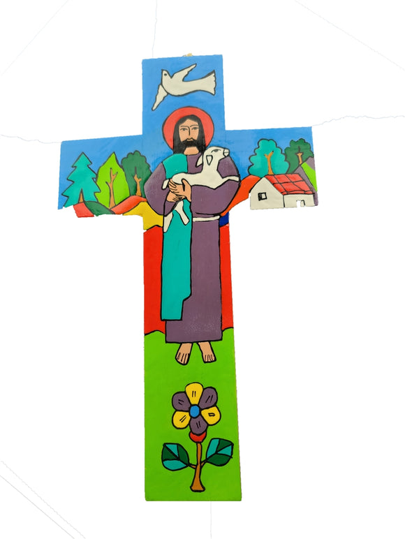 Good Shepherd Cross - AG-3246