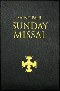 St. Paul Sunday Missal (Black)