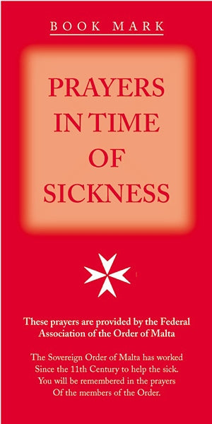 Prayers in Time of Sickness