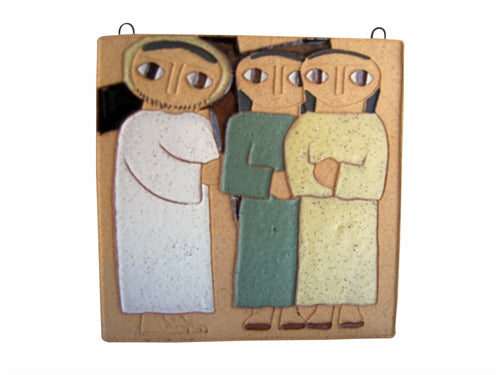 8th Station of the Cross- Jesus Meets the Women of Jerusalem (Small)