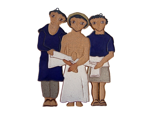 10th Station of the Cross- Jesus is Stripped of His Clothing (Large)