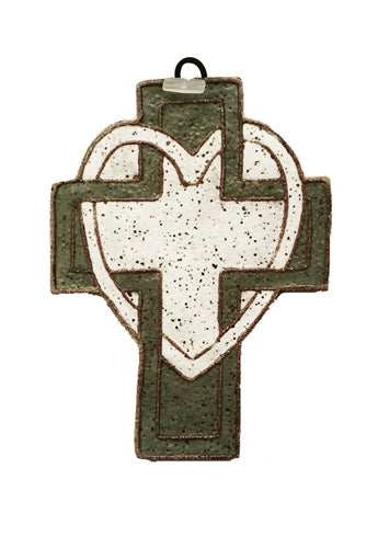 Smalll Cross with Heart