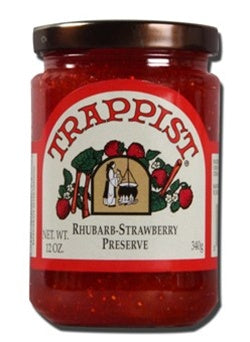 Trappists Preserves - Rhubarb-Strawberry