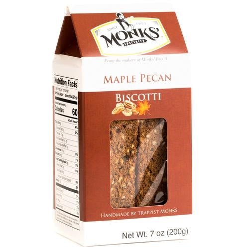 Monks' - Maple Pecan Biscotti