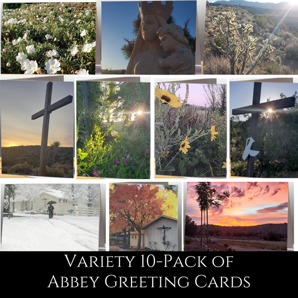 Abbey Greeting Cards Variety pack of 10