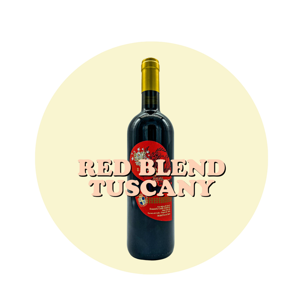 RED BLEND, TUSCANY, 2015