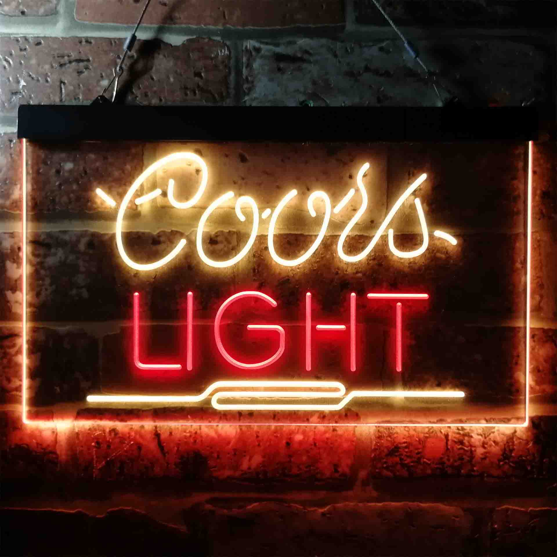 Coors Light Sport Beer Neon-Like LED Sign