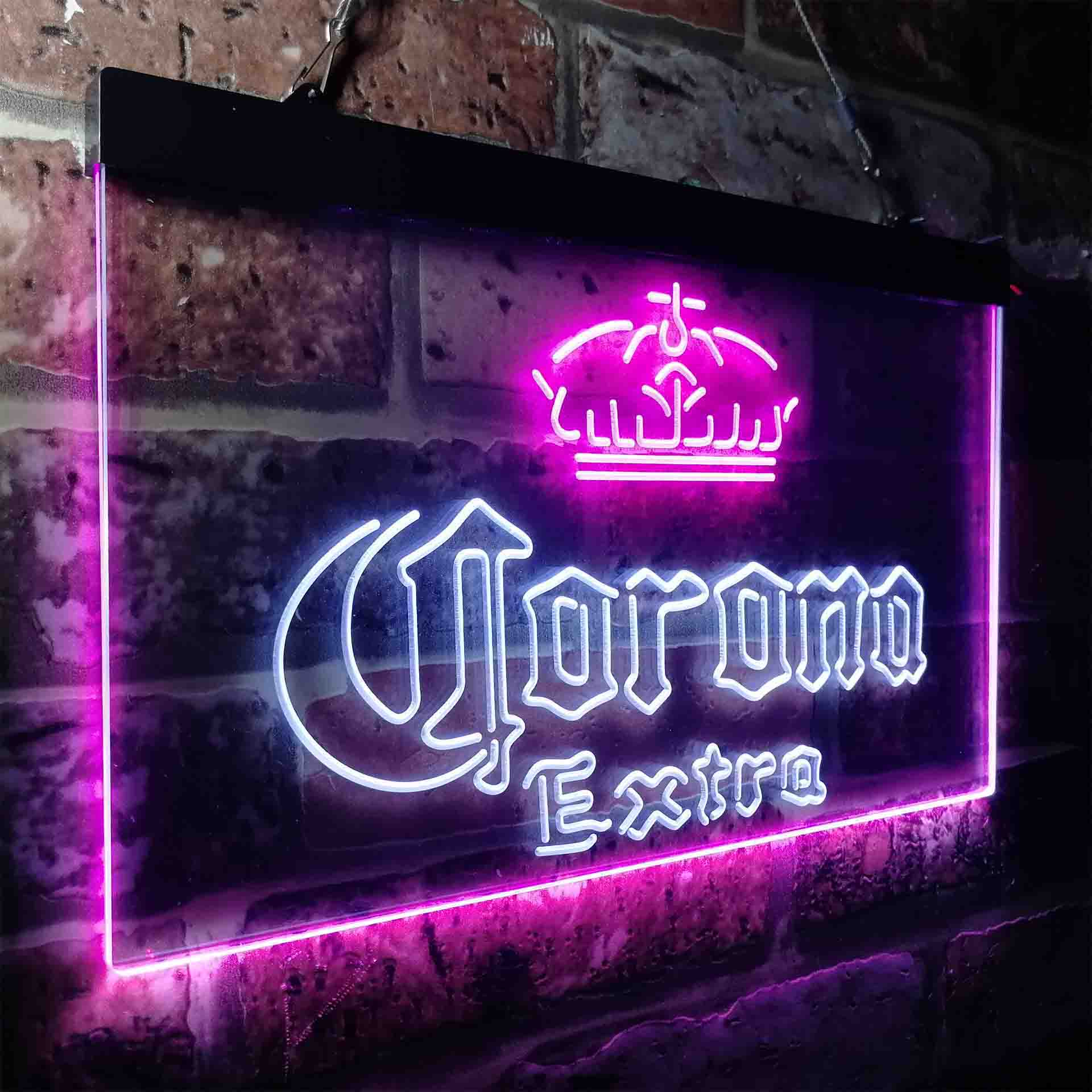 Corona Crown Extra Traditional Neon-Like LED Sign