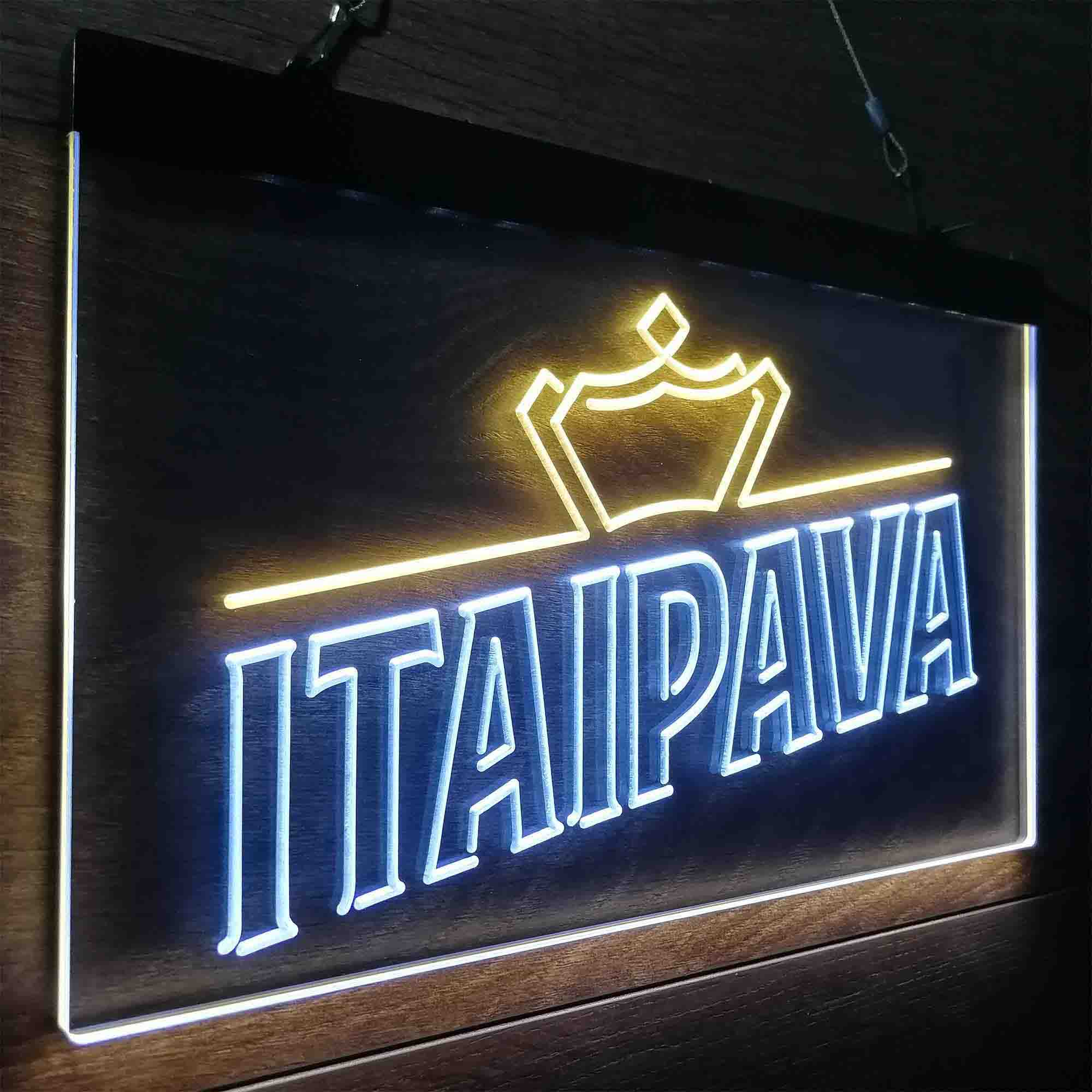 Itaipava Beer Neon-Like LED Sign