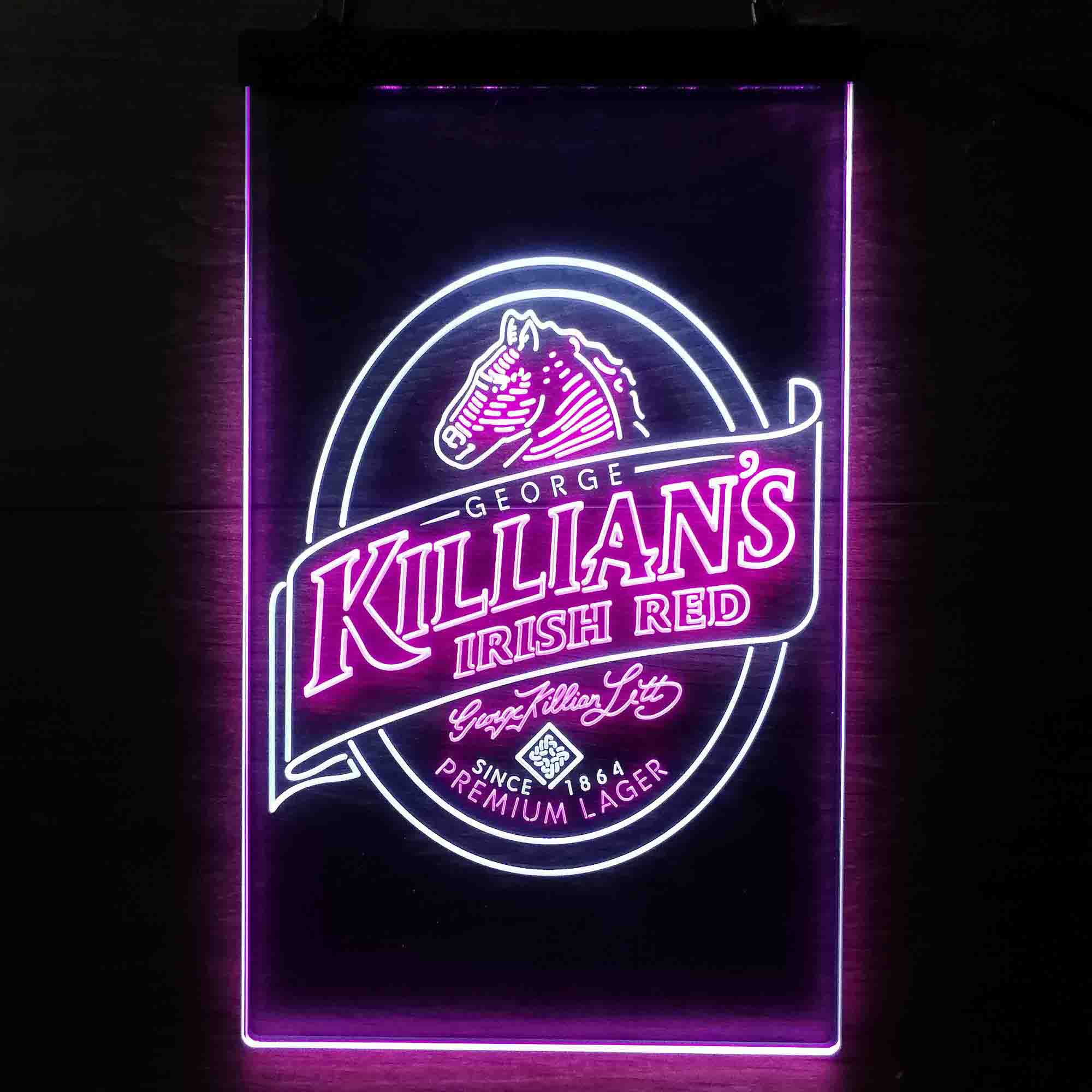 Killian's Irish Beer Dual Color LED Neon Sign ProLedSign