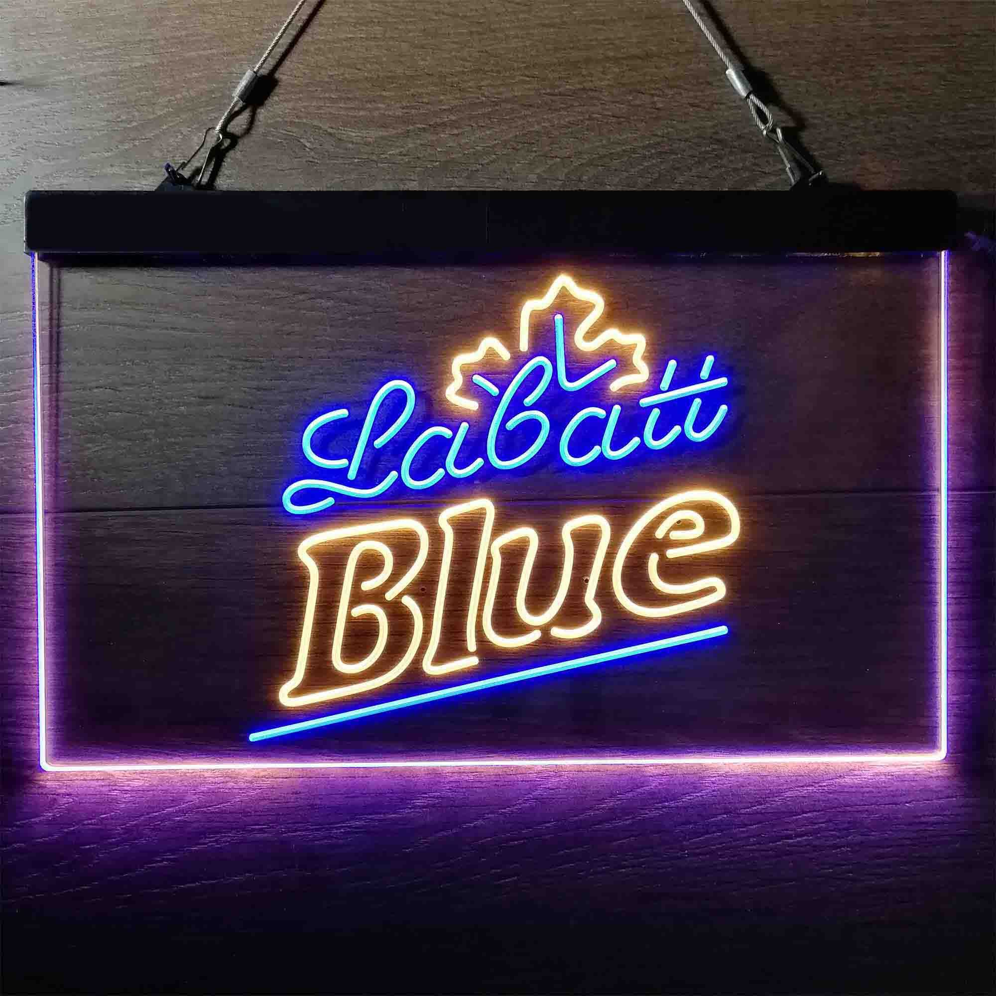 Labatt Blue Beer Neon-Like LED Sign
