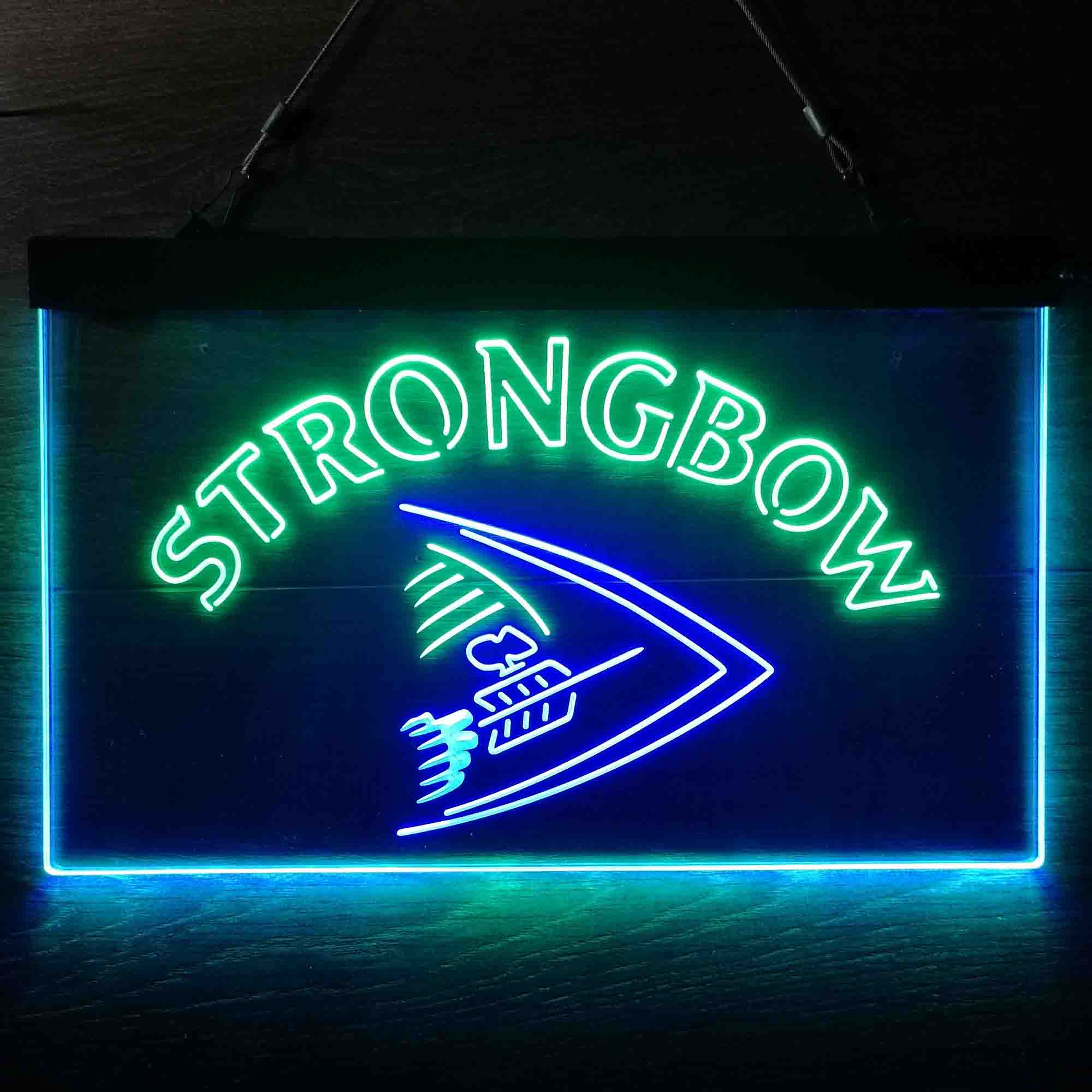 Strongbow Classic Beer Neon-Like LED Sign