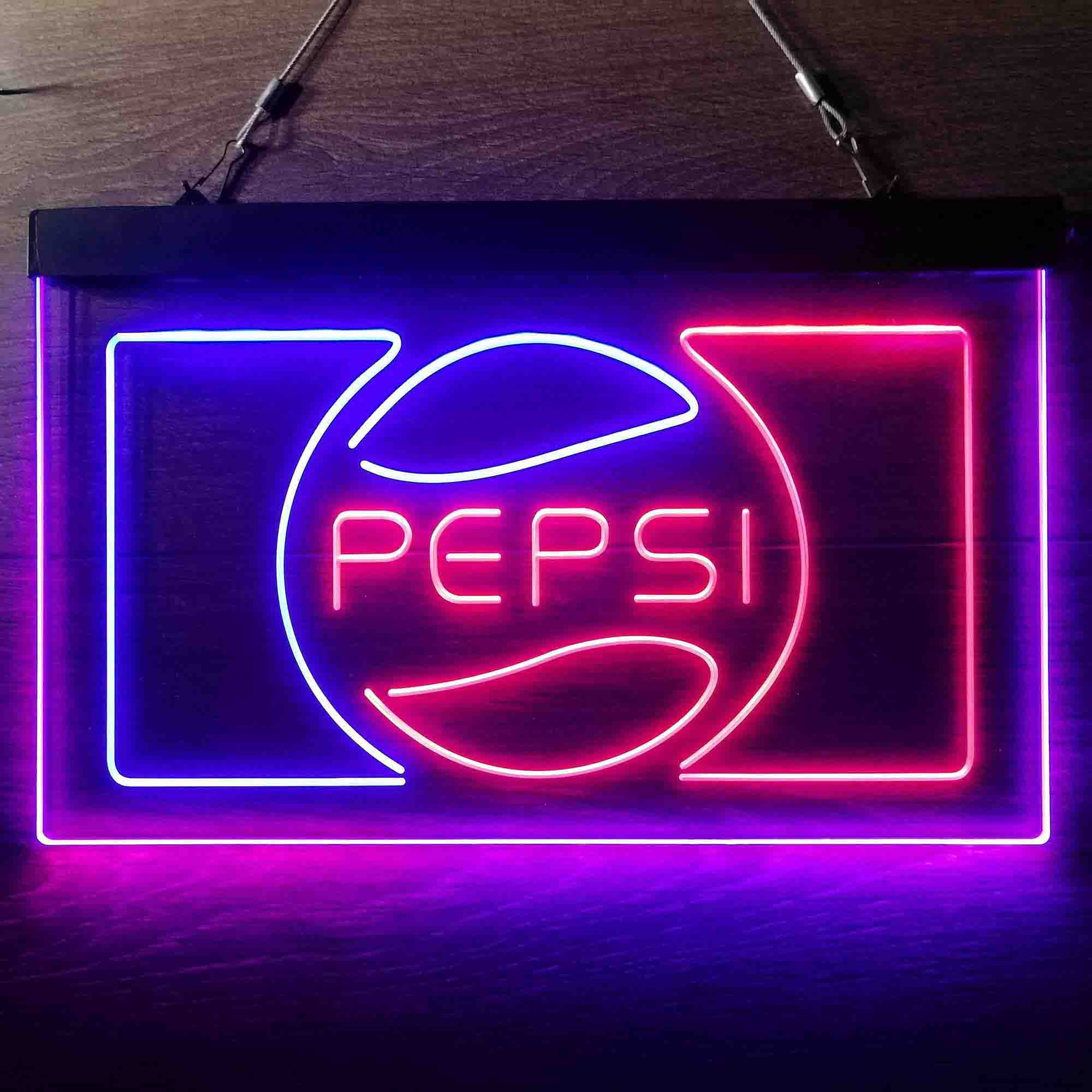Pepsi Cola Classic Drink Neon-Like LED Sign