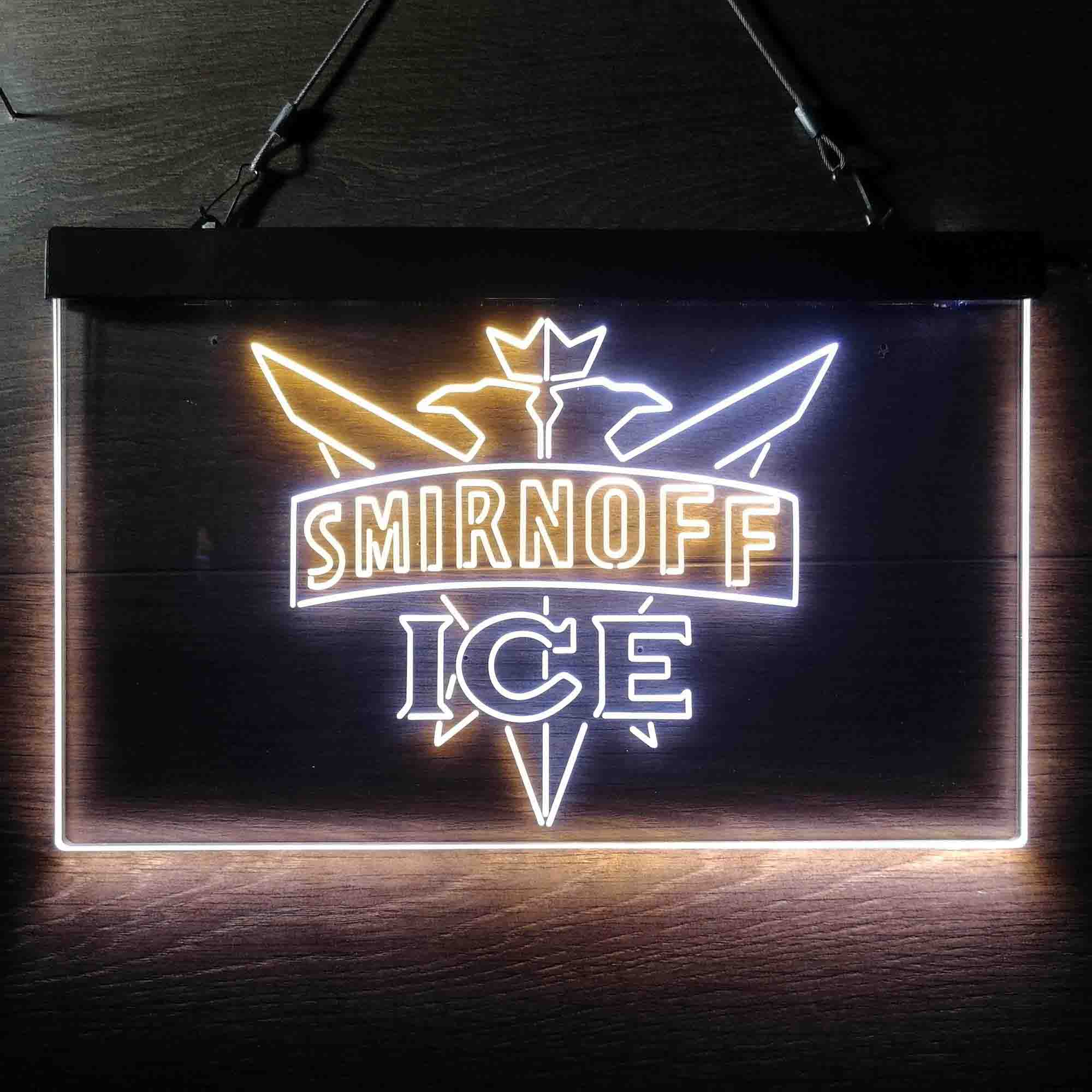 Smirnoff Vodka Bar Neon-Like LED Sign