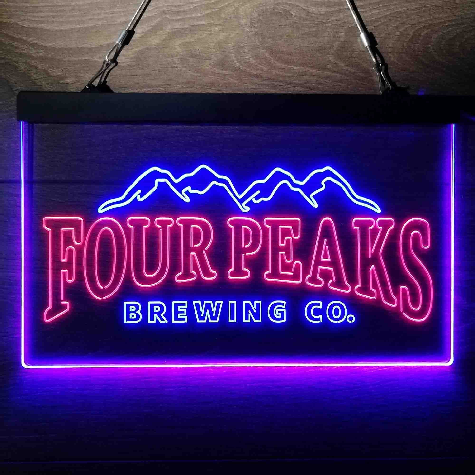 Four Peaks Brewing Co. Neon-Like LED Sign