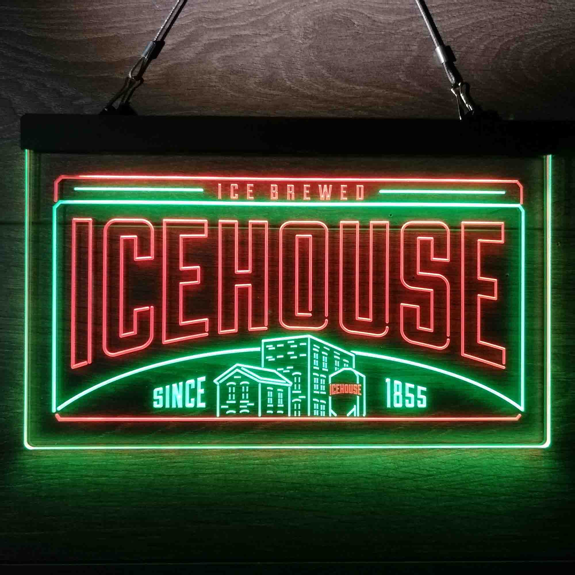 Icehouse Brewing Co. Neon-Like LED Sign