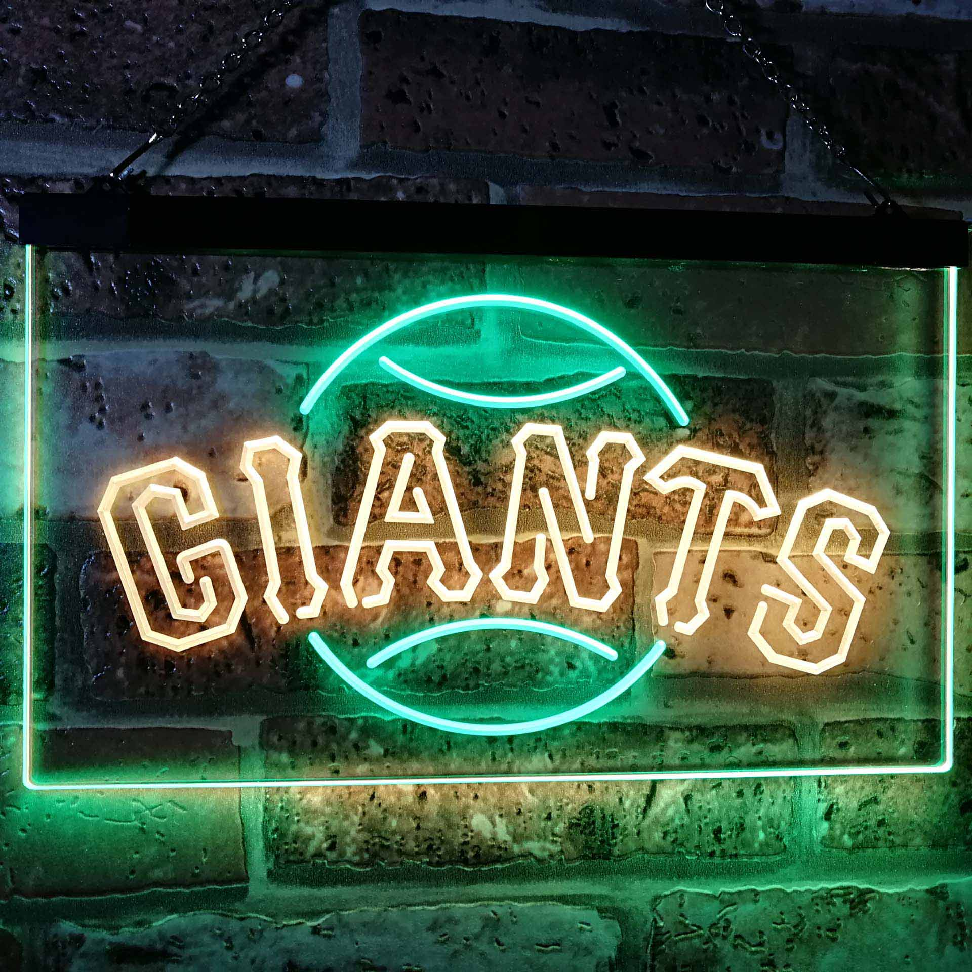 San Francisco Giants Dual Color LED Neon Sign ProLedSign