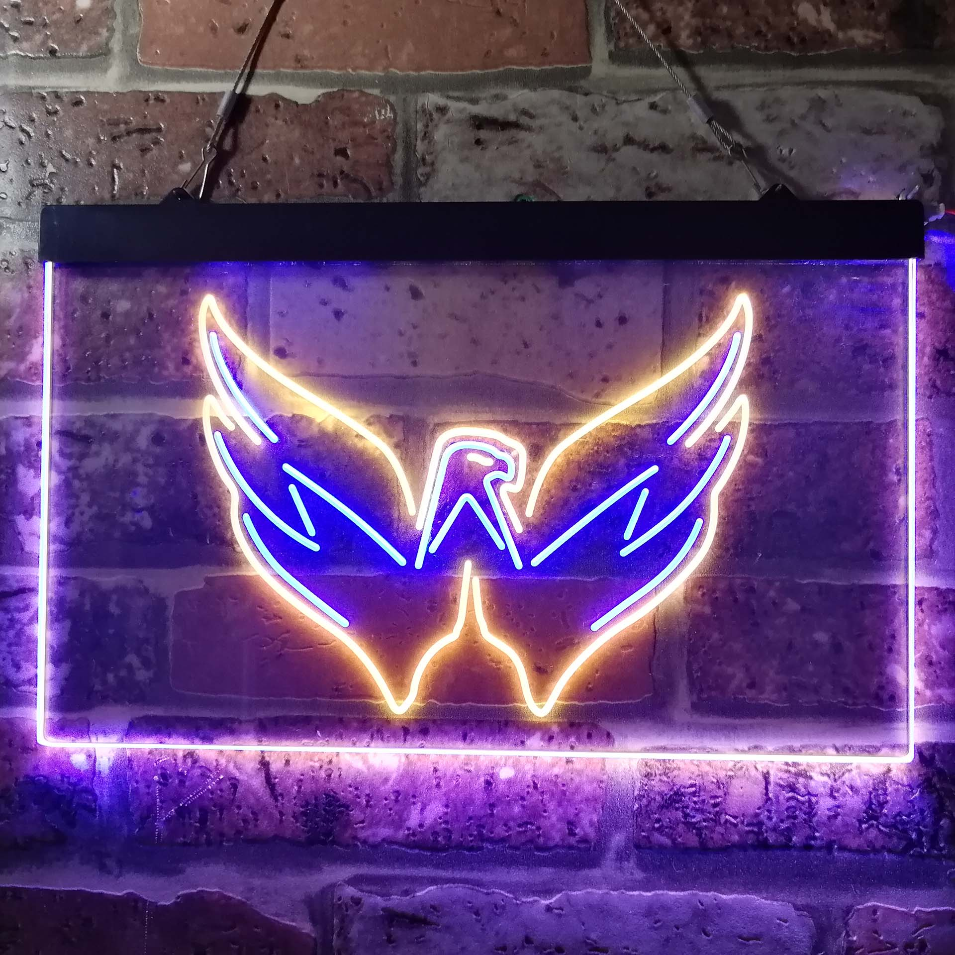 Washington Capitals Neon-Like LED Sign