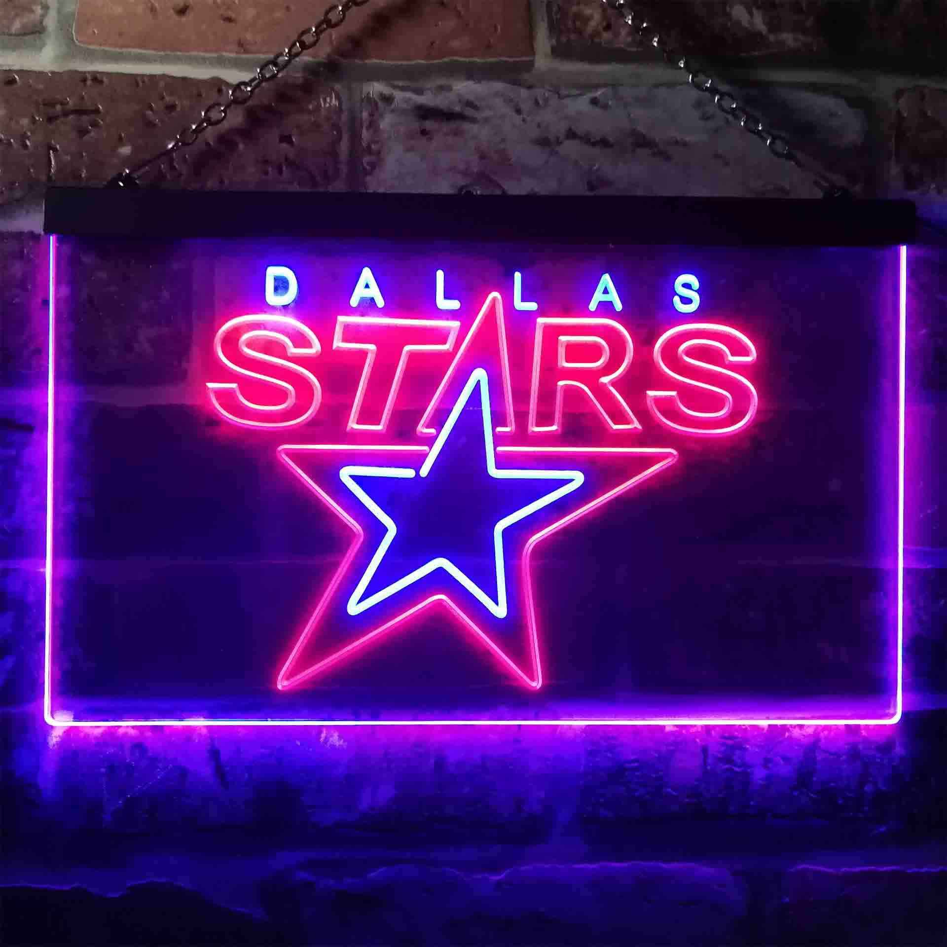 Dallas Stars Neon-Like LED Sign