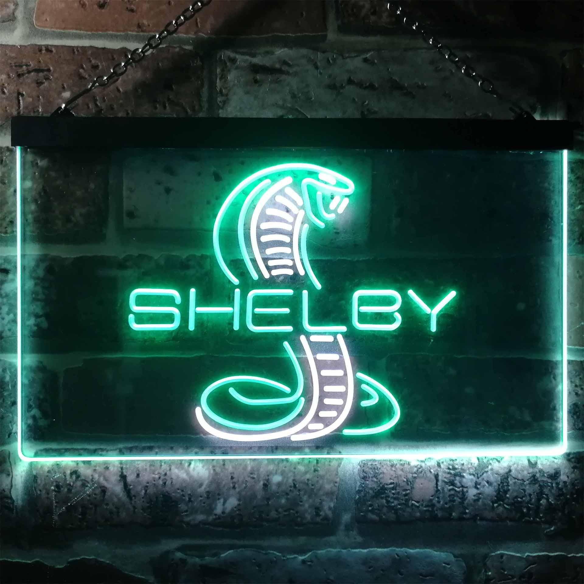 Ford Shelby Car Dual Color LED Neon Sign ProLedSign