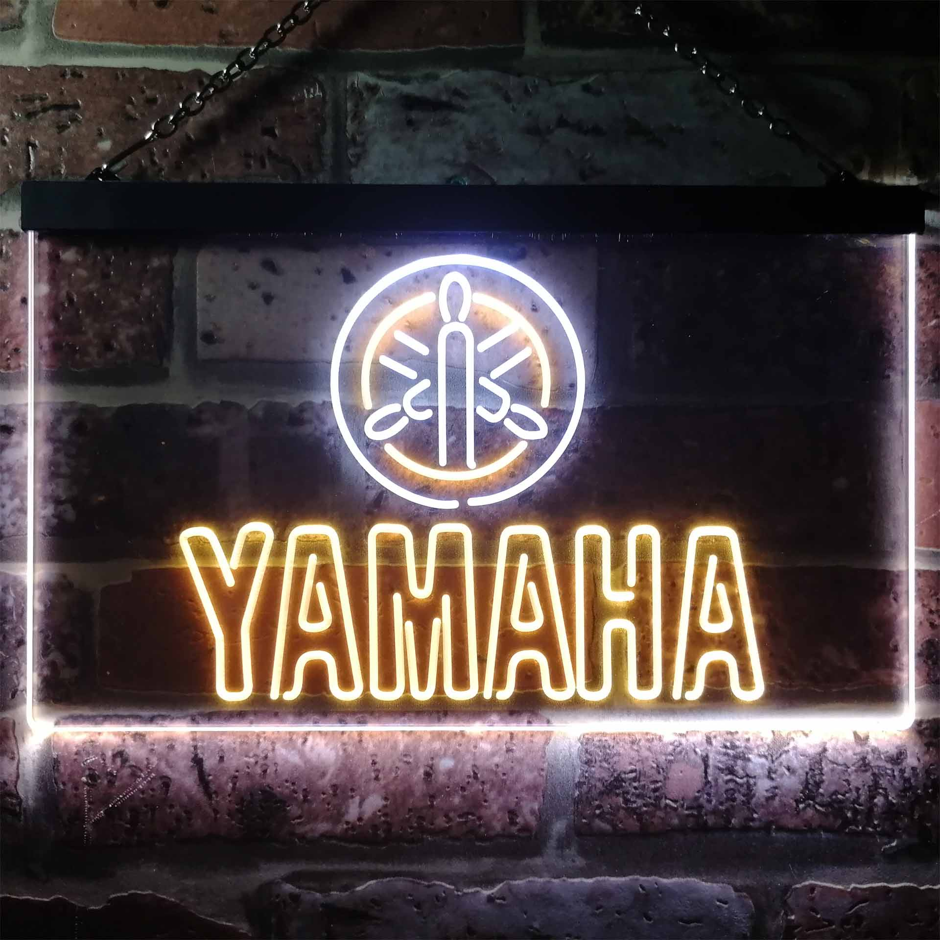 Yamaha Dual Color LED Neon Sign ProLedSign
