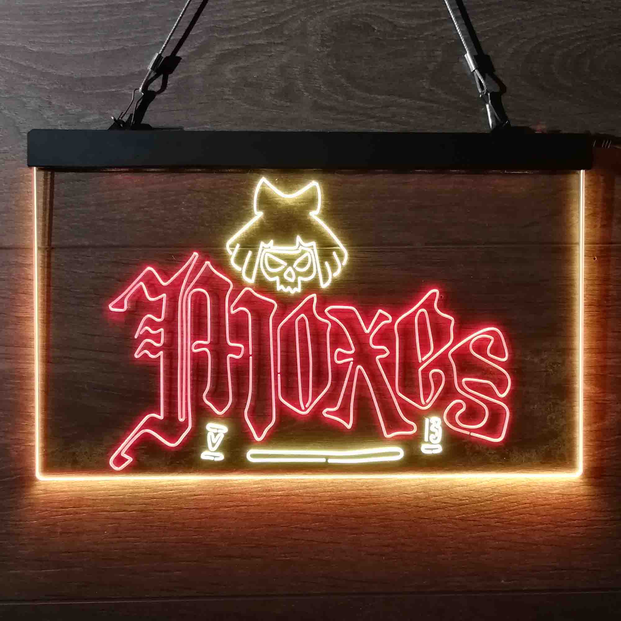 Cyberpunk 2077 Moxes Dual Color LED Neon Sign ProLedSign