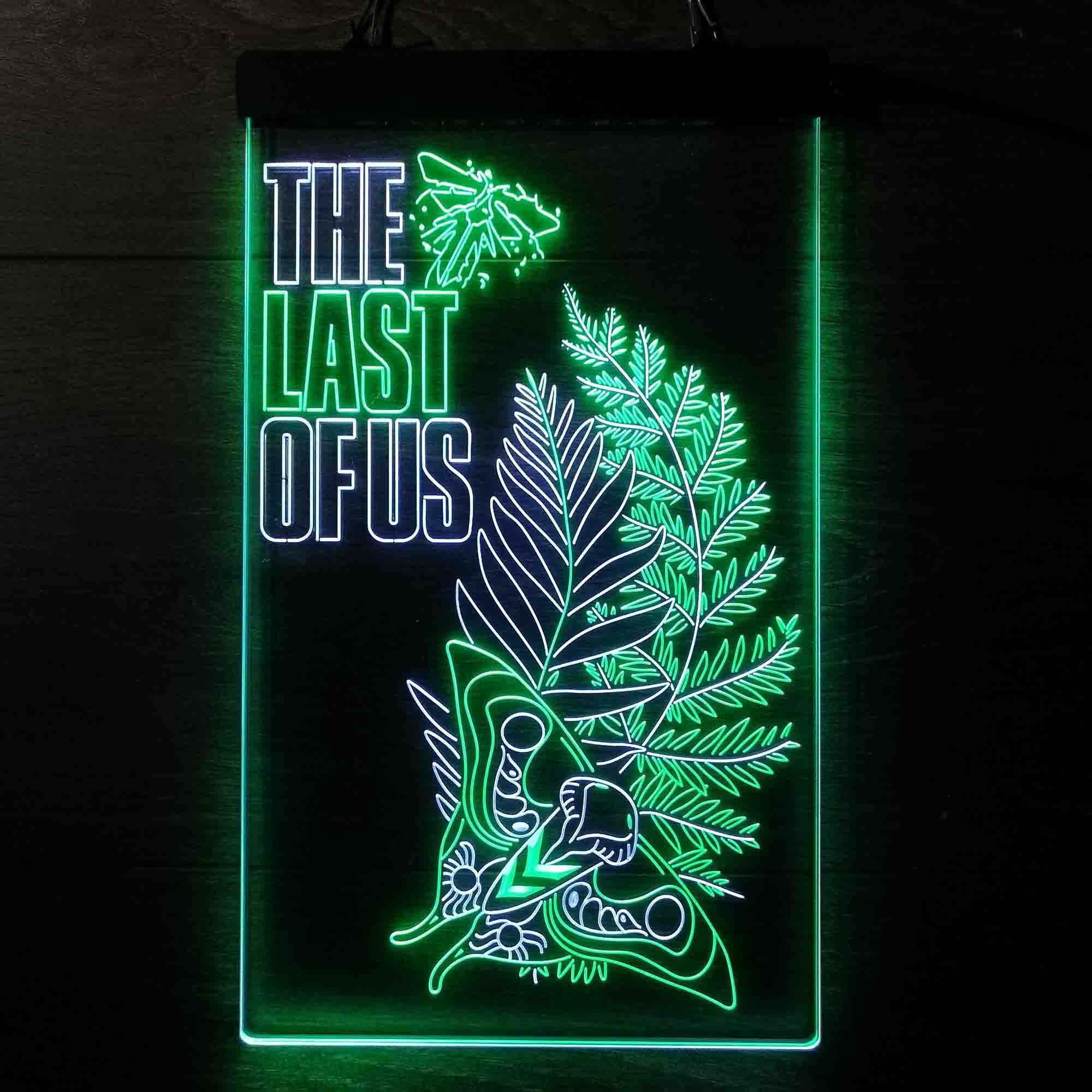 The Last of Us Dual Color LED Neon Sign ProLedSign