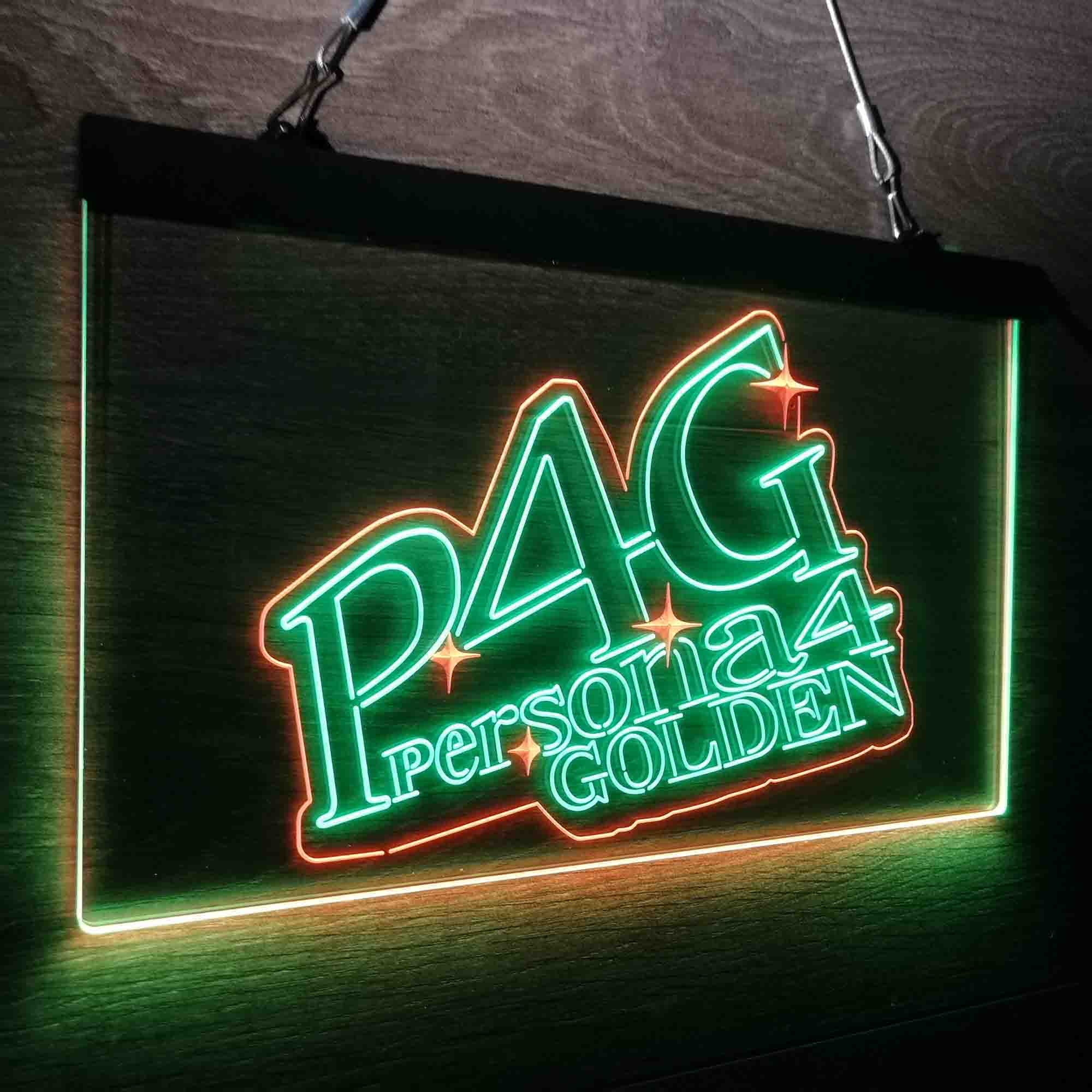 Persona 4 Golden Neon-Like LED Sign