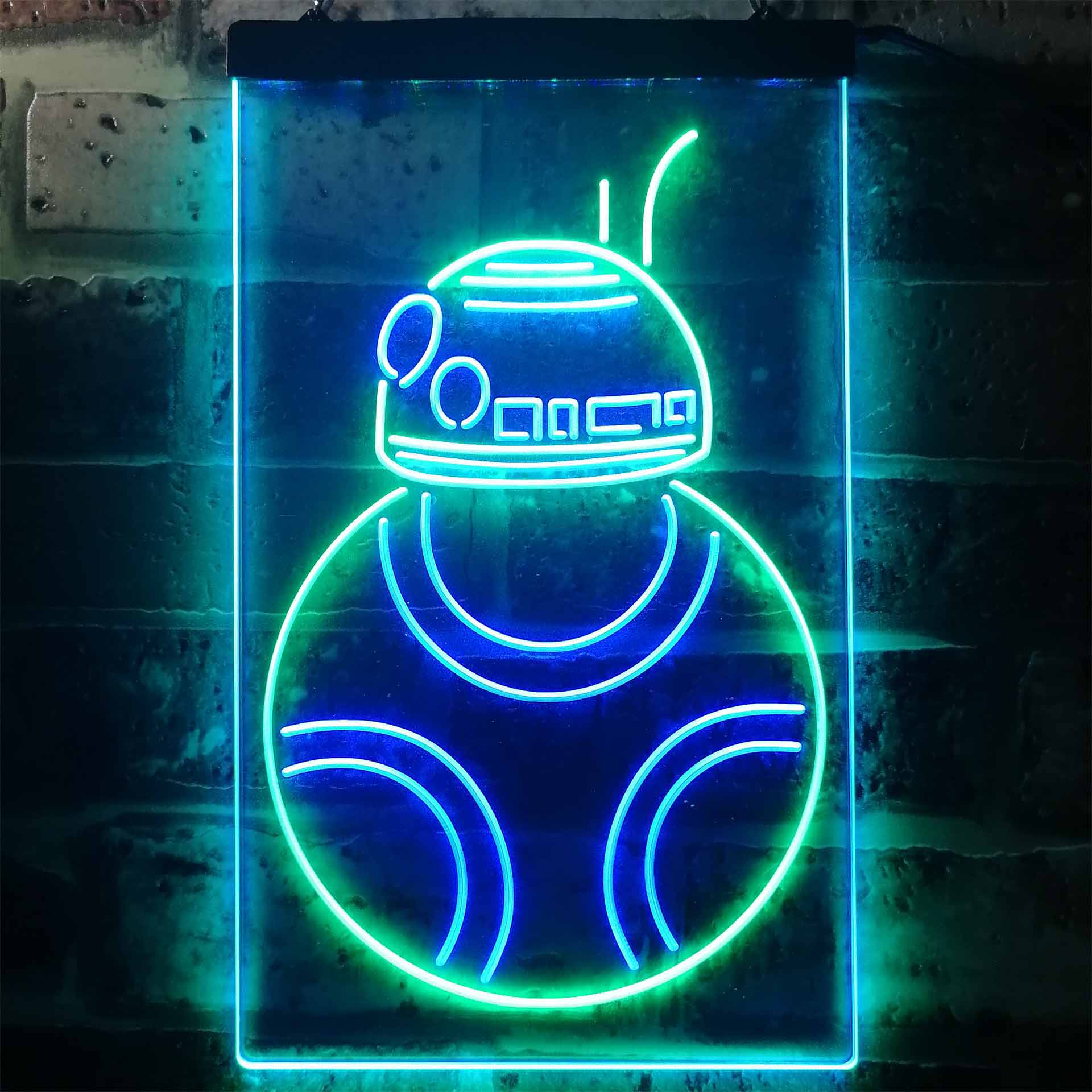 Star Wars BB8 Dual Color LED Neon Sign ProLedSign