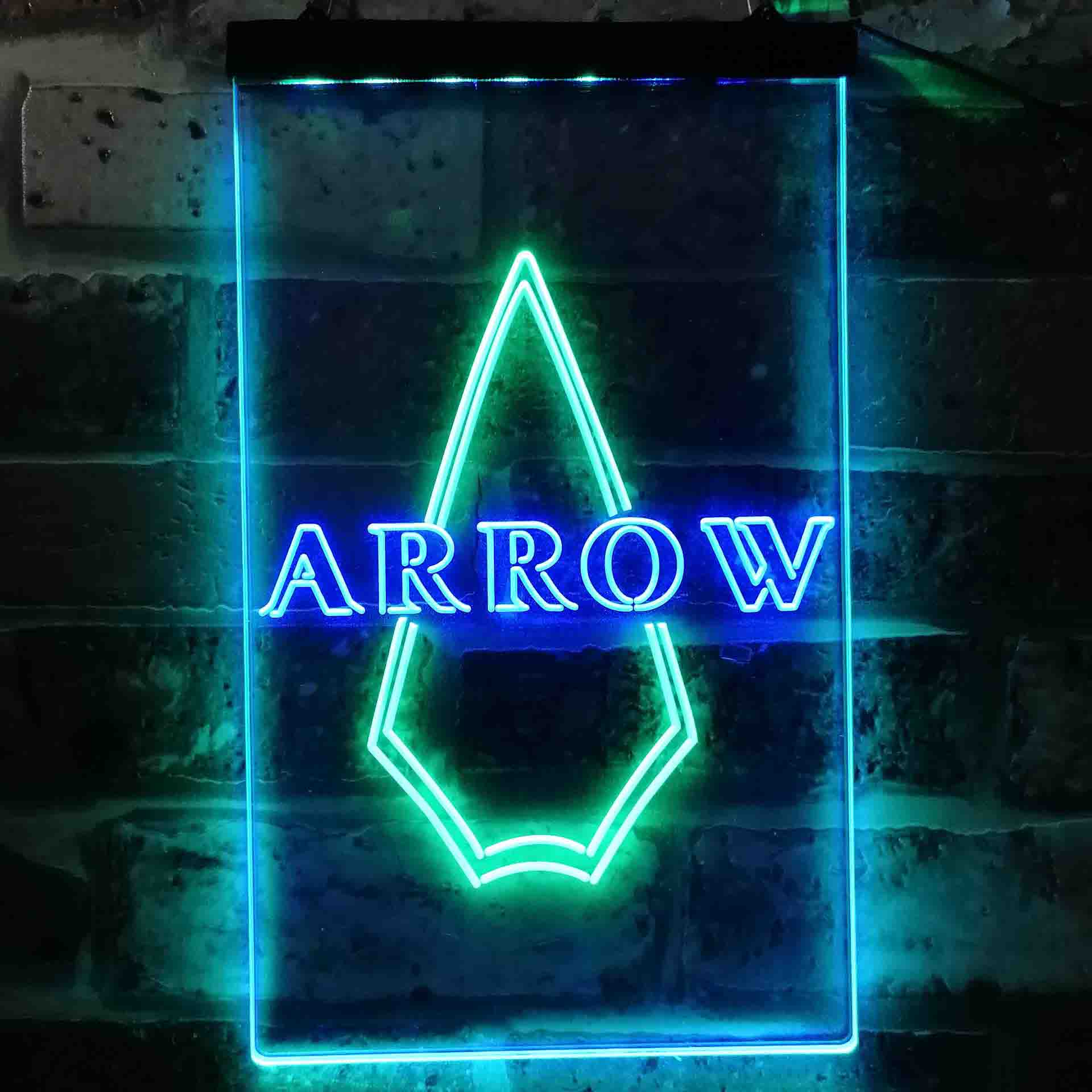 DC Comics Green Arrow Neon-Like LED Sign