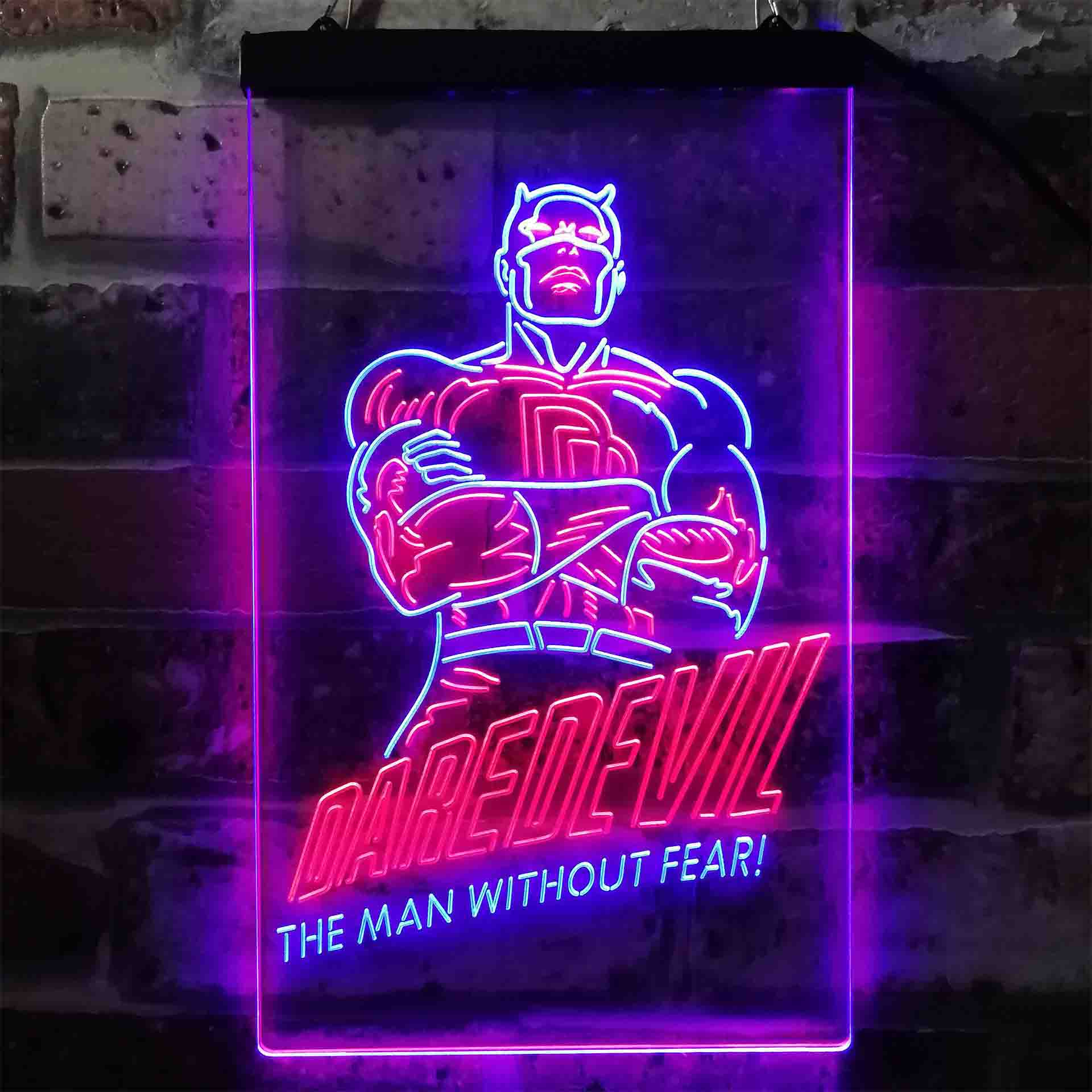 Daredevil Dual Color LED Neon Sign ProLedSign