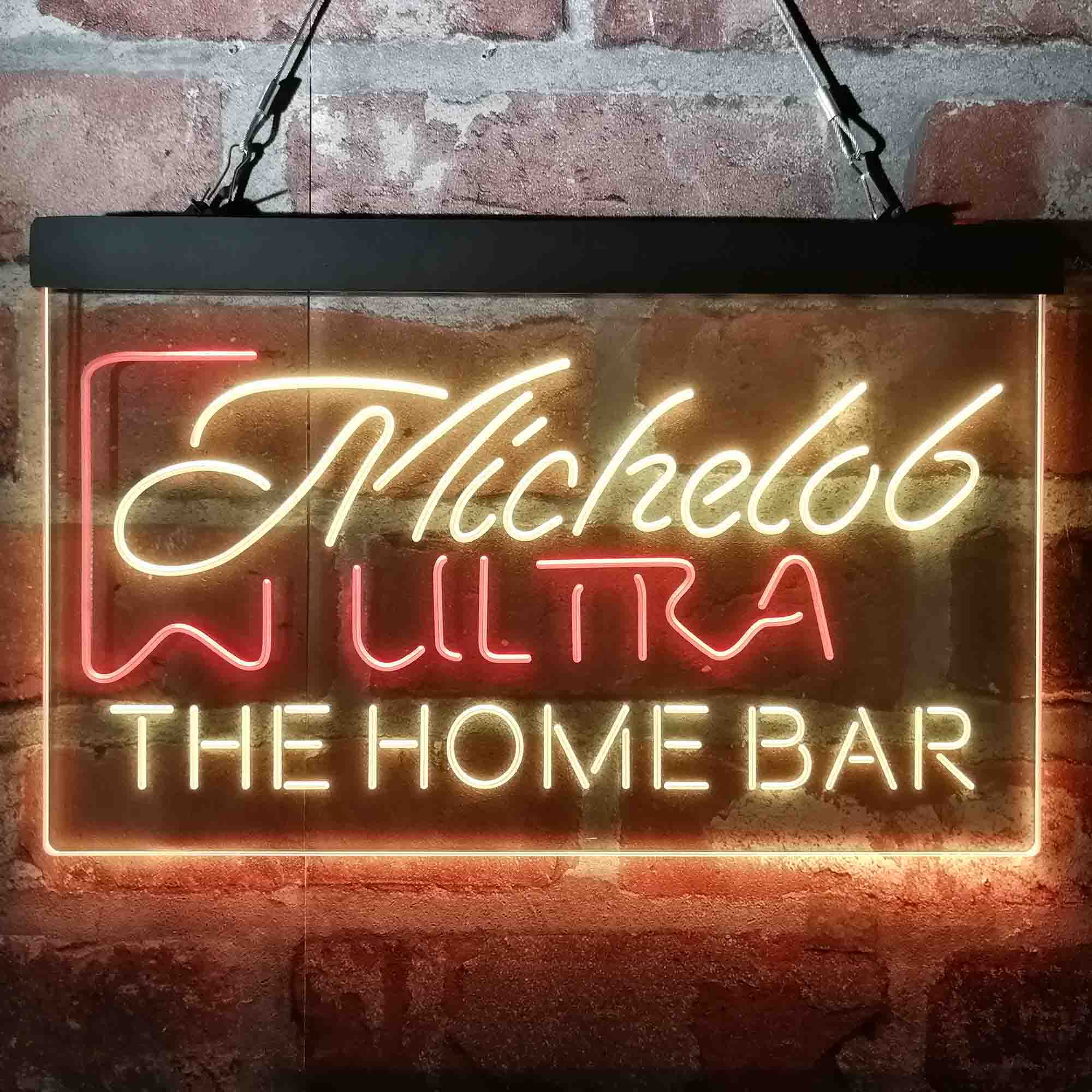 Michelob Ultra Superior Light Beer Custom Personalized Neon-Like LED Sign
