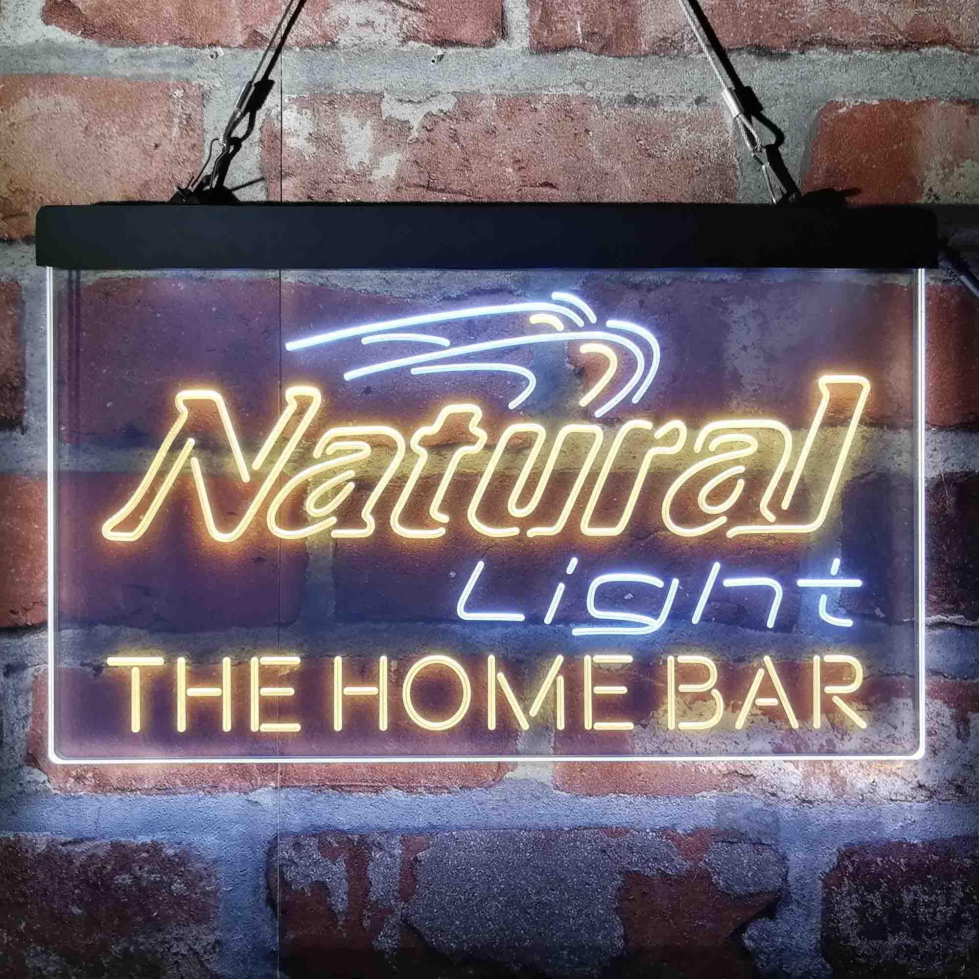 Natural Light Home Bar Gift Custom Personalized Neon-Like LED Sign